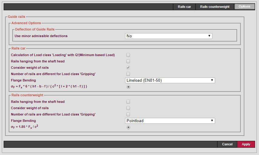 Guide Rails Options