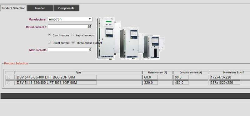Product Configurator Inverter LIWETEC GmbH
