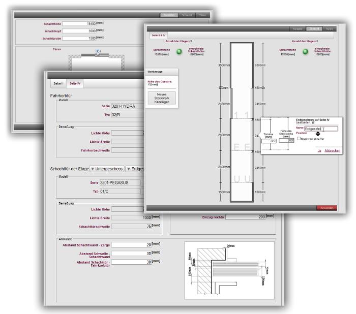 Produktkonfigurator Türen LIWETEC GmbH